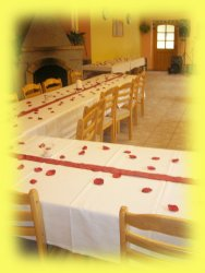 Uspořádání stolů pro oslavu