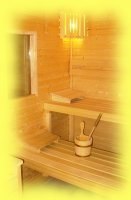 Sauna s vybavením